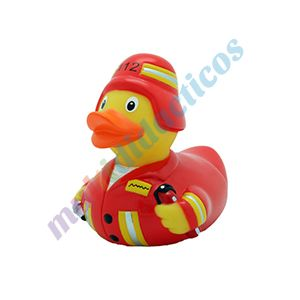 Colección #Patos de #goma #Multididacitos | Pato de goma #bombero. #PatosdeGoma #juguetes