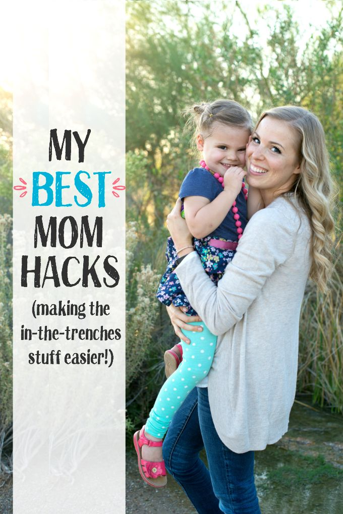 My BEST Mom Hacks - Tips for making the day-to-day, in-the-trenches stuff easier.  @mysimpletruth #SimpleTruthBaby #ad