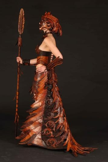 World of Wearable Art, Wellington, New Zealand - section winner 2008,   Ornitho Maia, Nadine Jaggi, Wellington