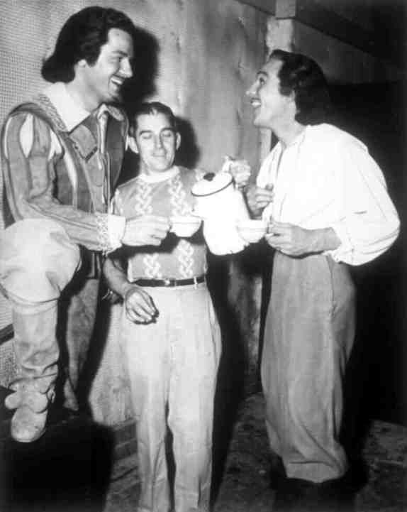 The Three Musketeers: Gene Kelly and Gig Young
