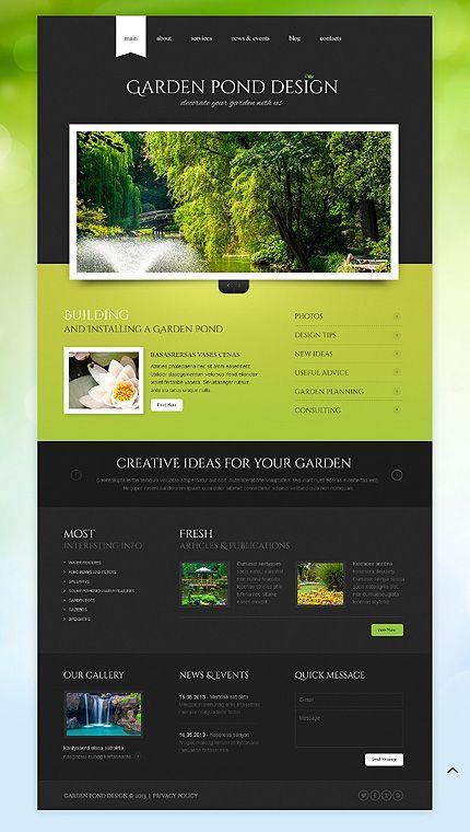 1000+ images about Landscape Design Website Design on ...