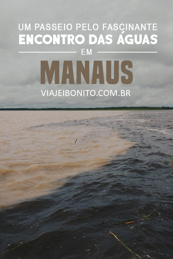 Passeio pelo fascinante encontro das águas, em Manaus