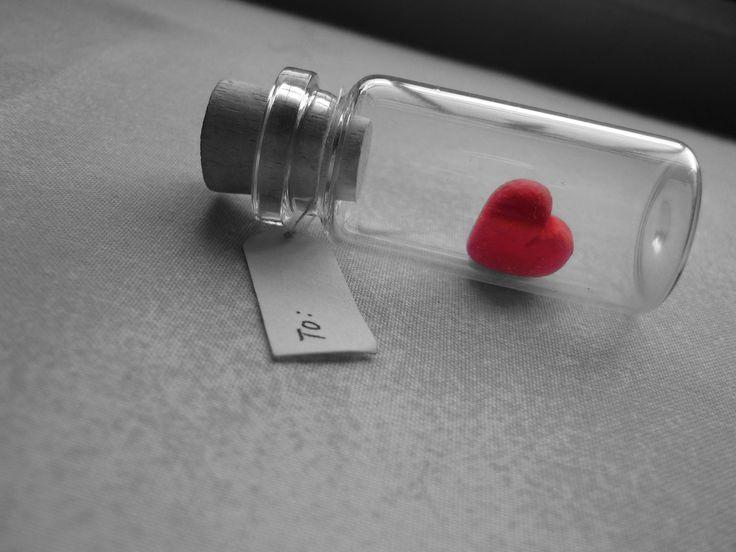 Láska, náladu, srdce, srdce, LÁSKA, Srdce, láhev, bubliny, poznámka, makro, šedé…