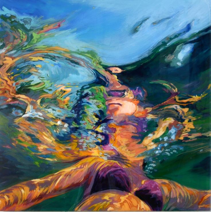 In the Bowl of Myself . Art. Original Underwater Painting ...