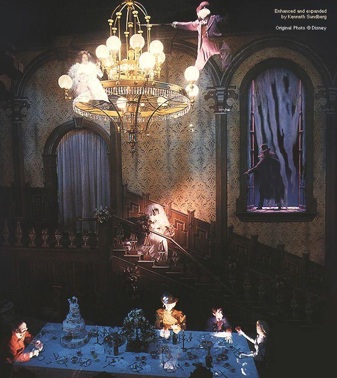 17 Best Images About Disneyland Paris Phantom Manor On