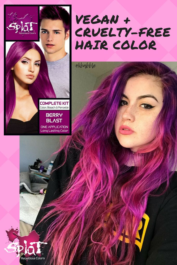 Splat Hair Dye Rebellious Style Artisanal Colors In 2020