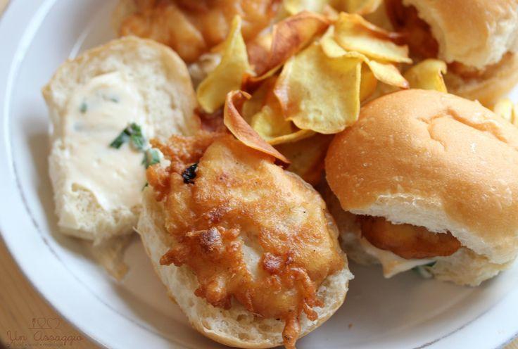 fish, cod burger, cod, cod cheeks, fish burger, recipe