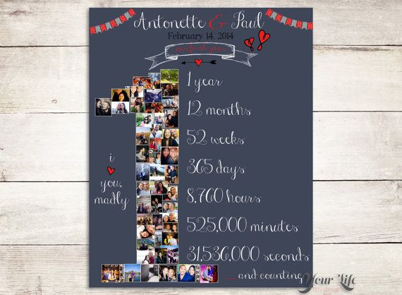 1st Wedding Anniversary Gifts For Wife: 25+ Best Husband Anniversary Ideas On Pinterest
