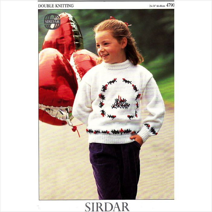Sirdar Christmas Jumper Knitting Patterns : 1000+ images about Christmas on Pinterest Auction, Knitting patterns and Ch...