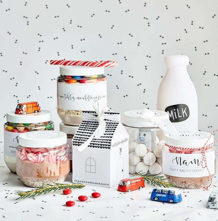 Ihanat itse tehdyt lahjat ja etiketit | Pop up kemut