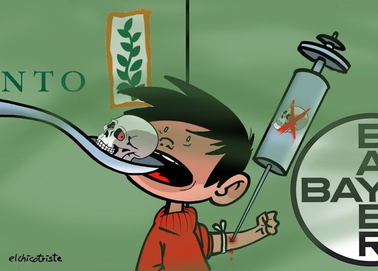 Monsanto & Bayer: the perfect marriage? A cartoon by Elchicotriste: http://www.cartoonmovement.com/cartoon/30162