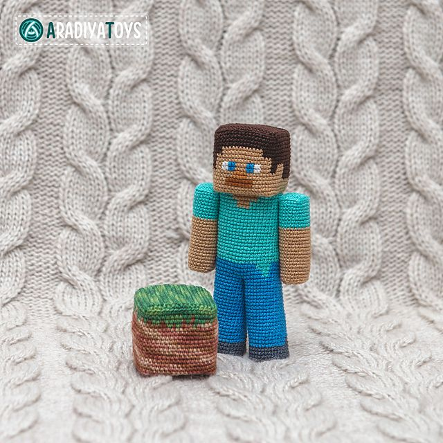 "Steve is a character of the popular game ""Minecraft"", that was created by Markus Persson and released by Mojang AB company."