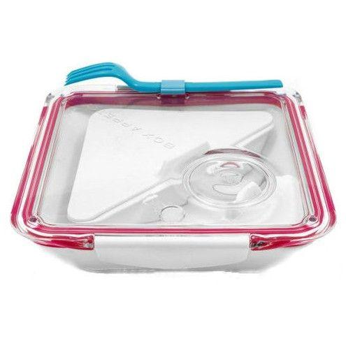 Box Appetit różowy - pojemnik obiadowy