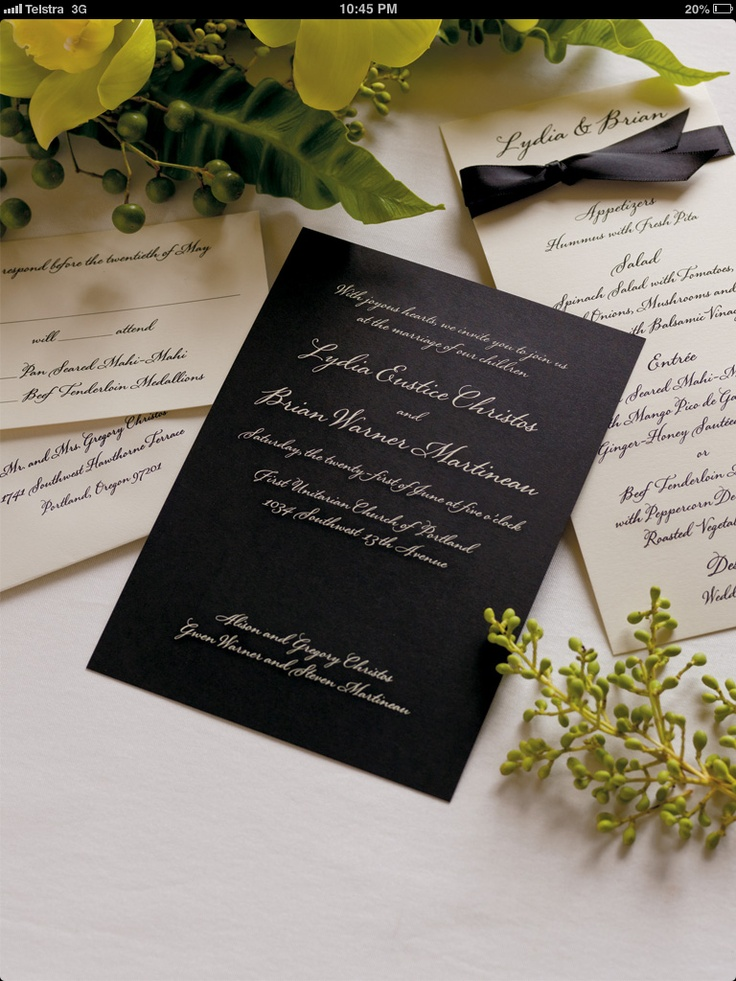 navy blue and kelly green wedding invitations%0A Invitation