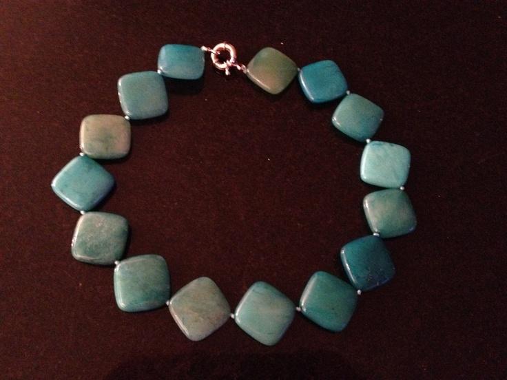 The Blue Jasper Necklace...soooo pretty
