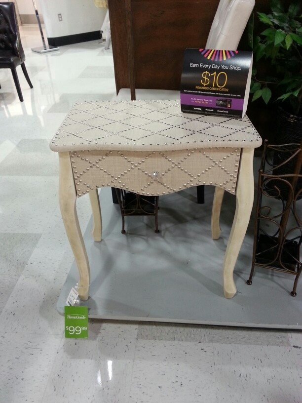 Side Table. Home Goods