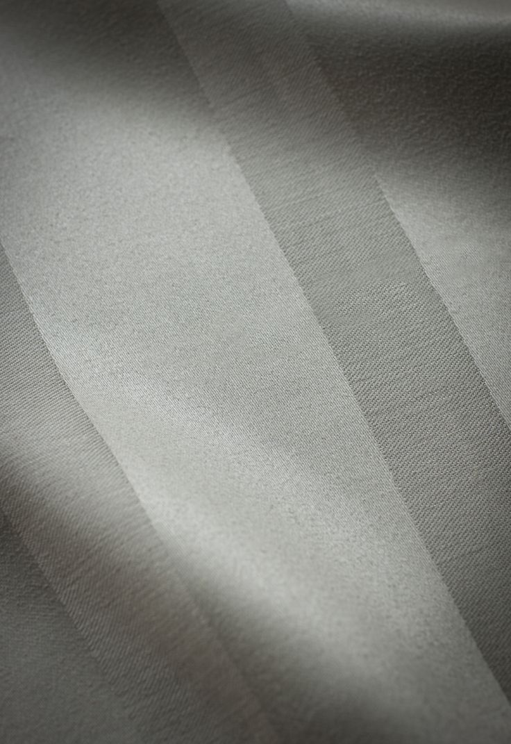 Harcourt stripe - mistletoe. Elegant self striped pure linen suitable for curtains and upholstery.