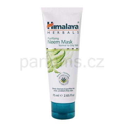 Himalaya Herbals Face Care Masks čisticí pleťová maska pro normální až mastnou pleť