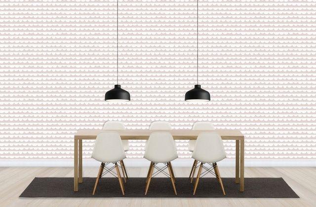 Changing Waves - Pink - Wall Mural & Photo Wallpaper - Photowall
