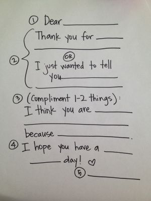 Teach the activity day girls to how to write an appropriate thank you card (I plan to use this with a lesson on sustaining our leaders and all kinds of helping hands.)