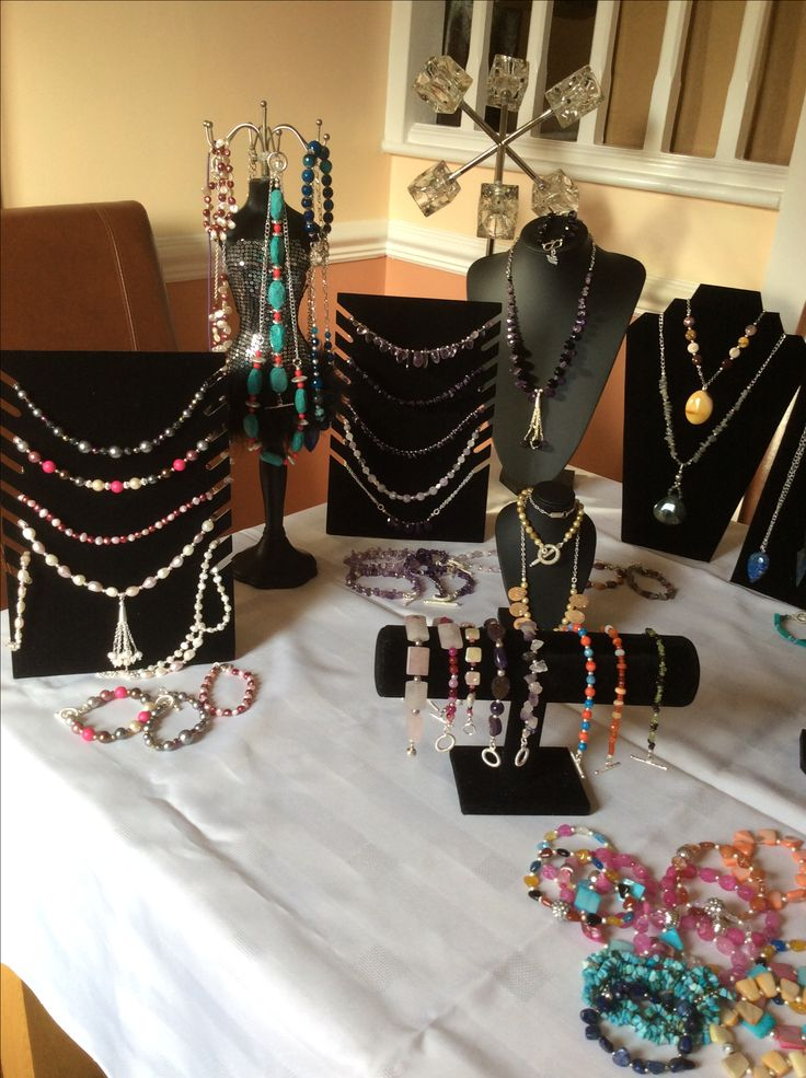 Christmas craft fair jewellery