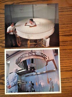 1979 perkin elmer hubble #space telescope flight #mirror 8x10 photo and #lithogra,  View more on the LINK: 	http://www.zeppy.io/product/gb/2/142241978193/