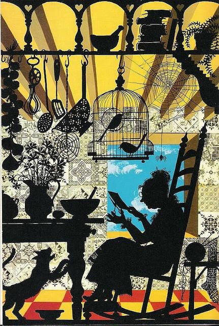 Tale of a One-Way Street by Joan Aiken, illustrated by Jan Pienkowski, 1978