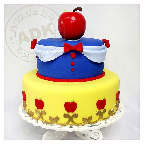 torta Blanca de Nieves