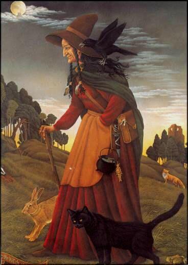 la sorcière et ses familiers                                                                                                                                                                                 Plus