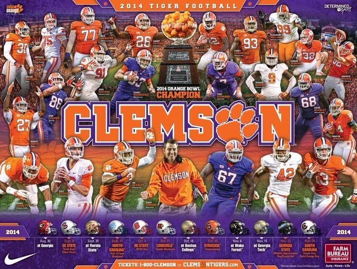 college football  2014 schedules | clemson-football2.jpg