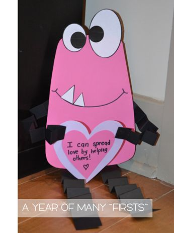 Be a LOVE MONSTER! Valentine's Day Activities