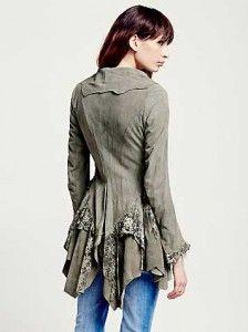 #Bohem tarzı süet ceket