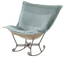 Chicago Textile Puff rocker, Butterfly Rocker Chair, Outdoor furniture ...