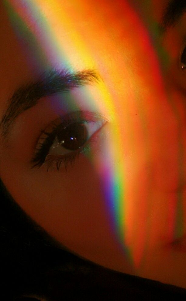 Face Rainbows Eye