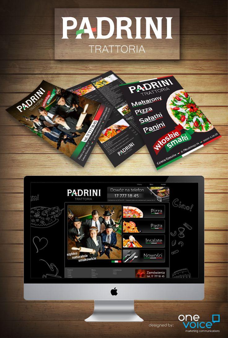 logo, website layout, leaflets