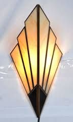 art deco wall lamp - Google Search