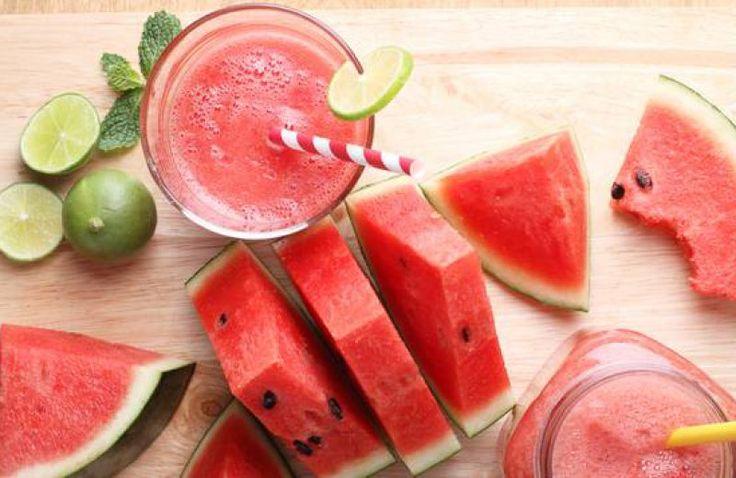 Pittige watermeloen smoothie