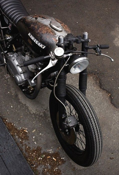 rusty cafe racer - Google Search