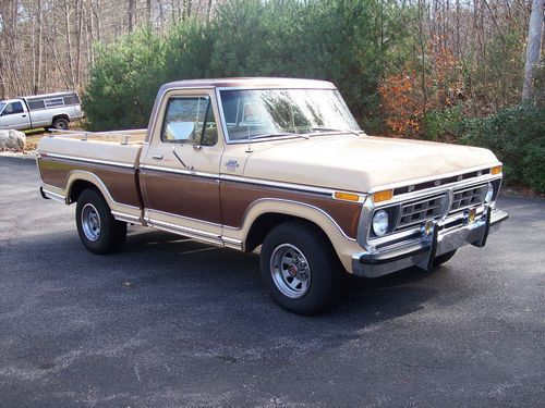 ford ranger two tone | Buy used 1977 Ford pick up truck in Worcester, Massachusetts. Hot dayyum. Would kill for this truck. <3