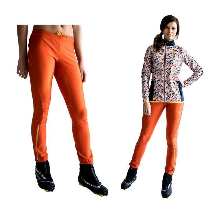 SWEARE XC 360 Pant in the color Orange break. It doesn't matter if you go classic- or skate skiing, the pant allows for movement in all directions and won't rip or hinder you and it has excellent breathability and very good water repellency. This pant are perfect for autumn and winter running and of course for XC skiing. Products are responsibly made in Estonia. All design and development made in Åre, Sweden. #älskasnö #vasaloppet #älskaåre #längdskidåkning #running #trailrunning #vinter