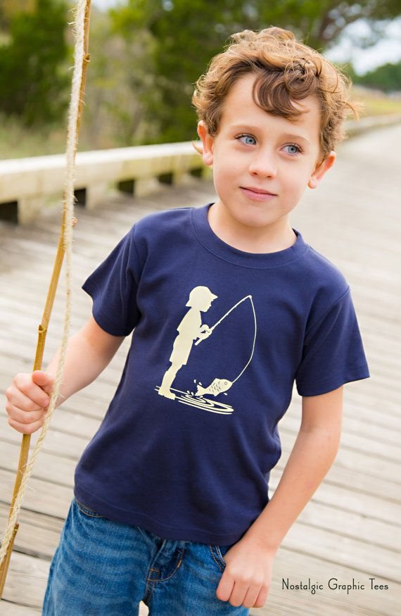 Fishing Frenzy Short Sleeved Crew by Nostalgic by elizabethhorton