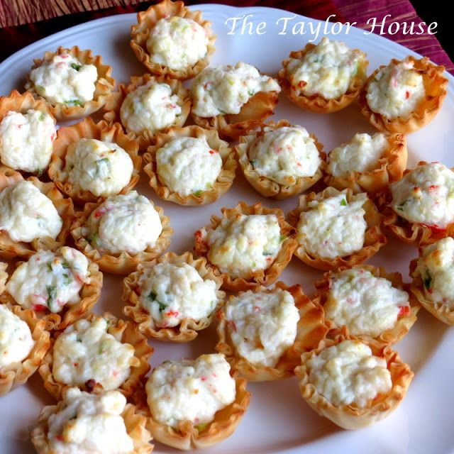 Crab and Cream Cheese Bites... Perfect for holiday parties and football get togethers!!