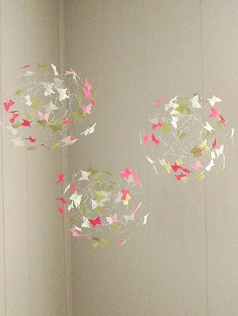 Butterfly Mobiles for Nursery, Nursery Decor with Butterflies, Baby Mobiles, Nursery Mobiles