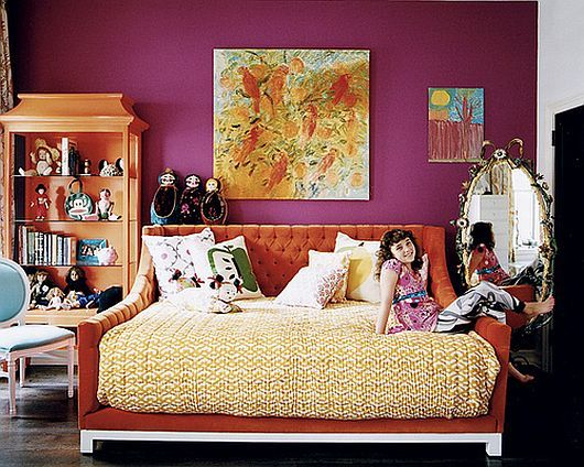 16 best orange purple pink bedroom images on pinterest