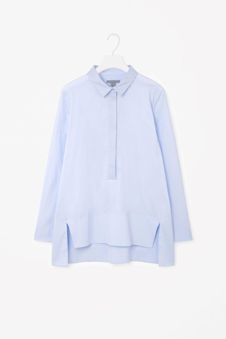 COS | Split-front shirt