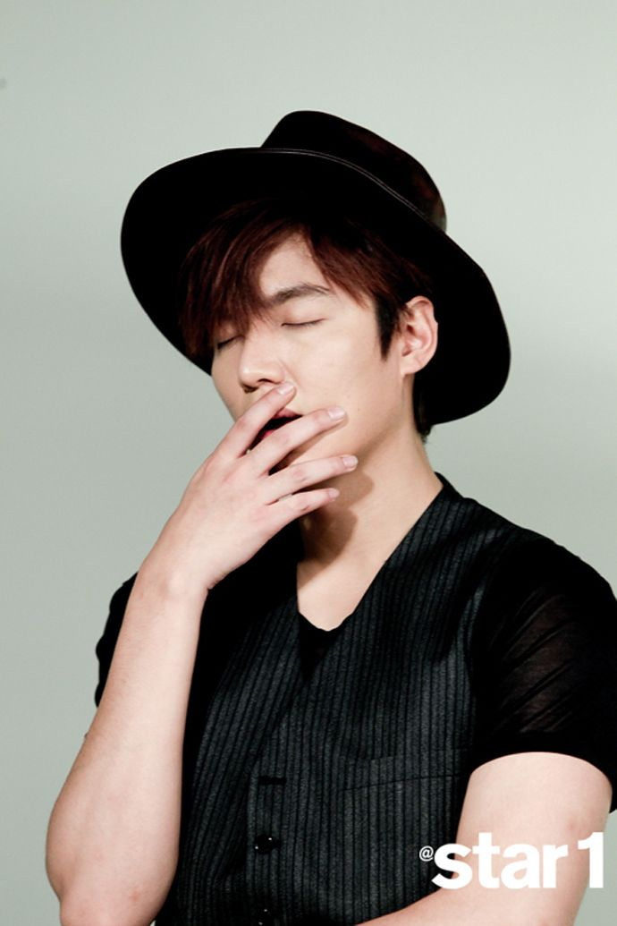 Lee Min Ho - @ Star1 Magazine April Issue '14