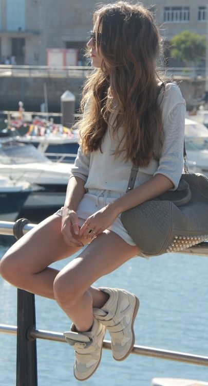 love Isabel marant sneakers~~~