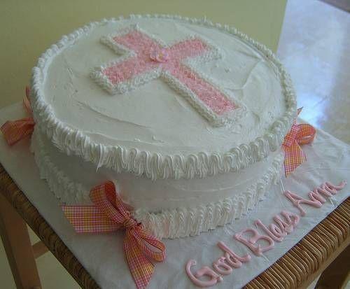 Baby Dedication Cake Ideas | Baptism Cake Decorating Ideas | Christening Centerpiece Ideas Ehowcouk ...