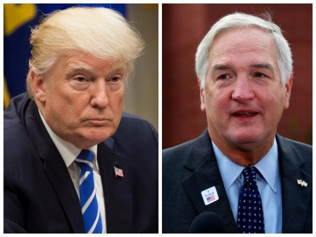 Luther Strange touted President Donald Trump's endorsement of him some 28 times during his debate Thursday evening with Judge Roy Moore.