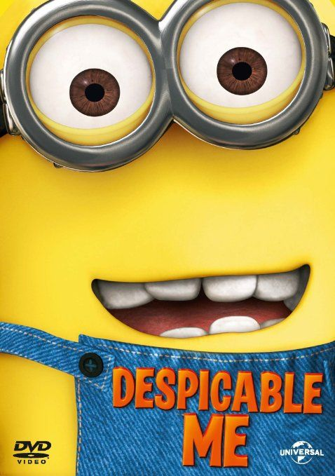 Despicable Me [DVD] [2010]: Amazon.co.uk: Steve Carell, Russell Brand, Julie Andrews, Miranda Cosgrove, Jason Segel, Pierre Coffin: DVD & Blu-ray